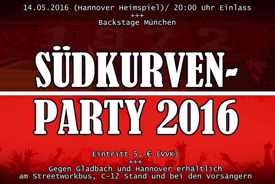 Südkurven-Party 2016