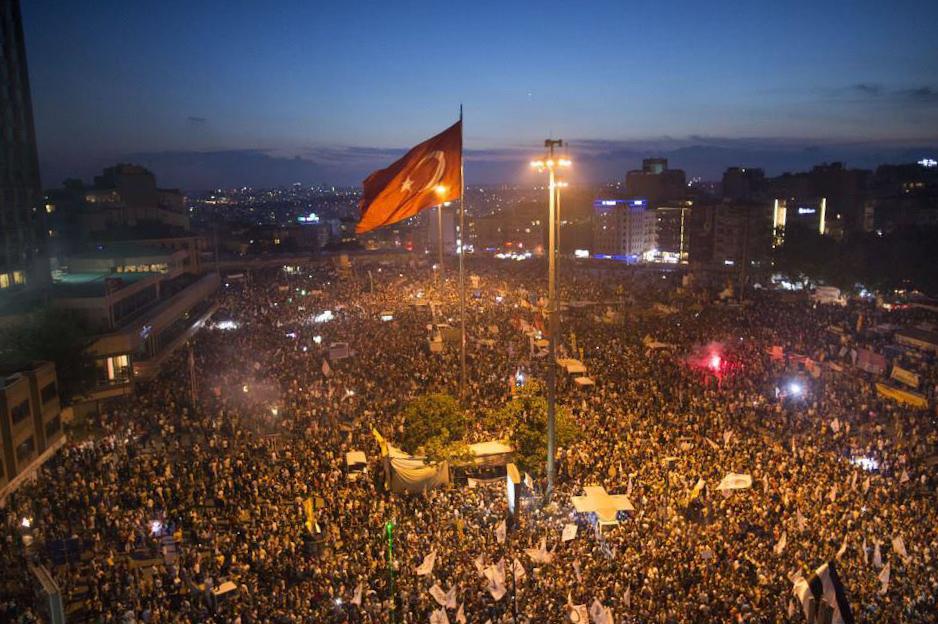Taksim Gezi Park - Proteste (15.06.2013)