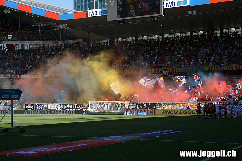 Basel gegen Zürich