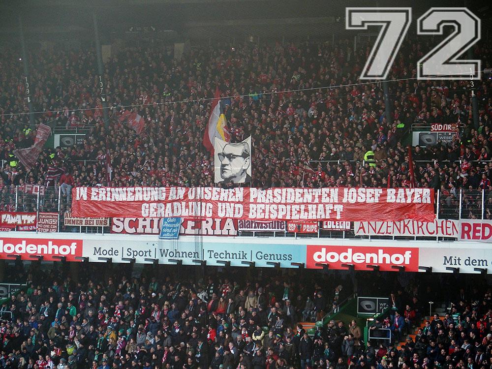 Josef Bayer - Gedenkaktion
