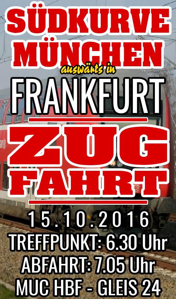 Zugfahrt Frankfurt